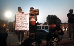 الصورة: بالصور.. الاضطرابات تشتعل في ويسكونسن على خلفية «عنصرية»