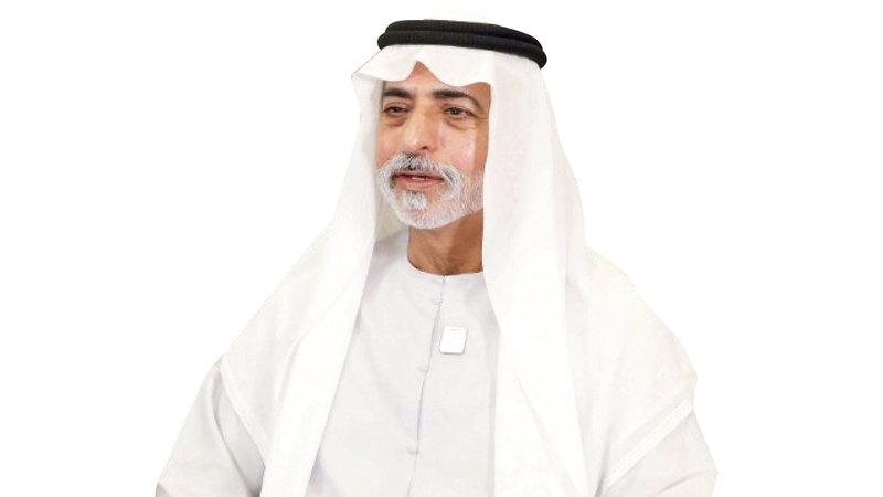 نهيان بن مبارك آل نهيان. من المصدر