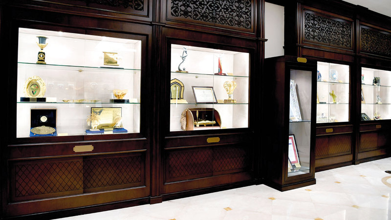 قاعة «الجوهرة» أنشئت في عام 1999 بمقر الاتحاد النسائي العام.  وام