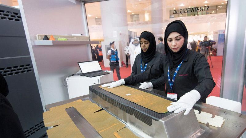 إسهامات متنوعة للمرأة الإماراتية في قطاعات العمل المختلفة.  أرشيفية