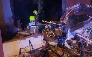 وفاة شخص نتيجة حريق بمطعم في المدينة العالمية thumbnail