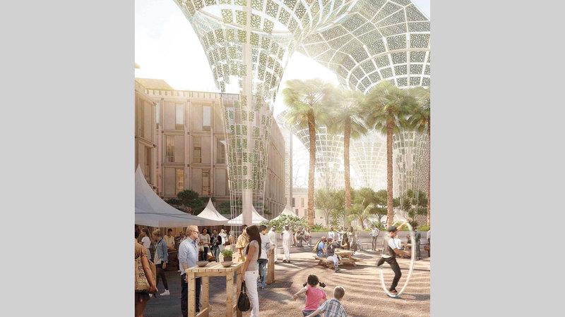 «إكسبو دبي» يسعى إلى تحفيز المشاركين لإكمال أعمالهم بحلول نهاية 2020.■ أرشيفية