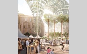الصورة: «إكسبو 2020 دبي» يراجع رسوم توصيل خدمات المرافق