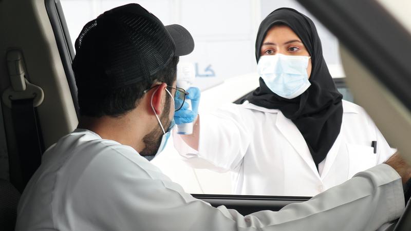 قطاع التأمين في الدولة أثبت نجاحه في التعامل مع أزمة «كوفيد-19».  تصوير: أسامة أبوغانم