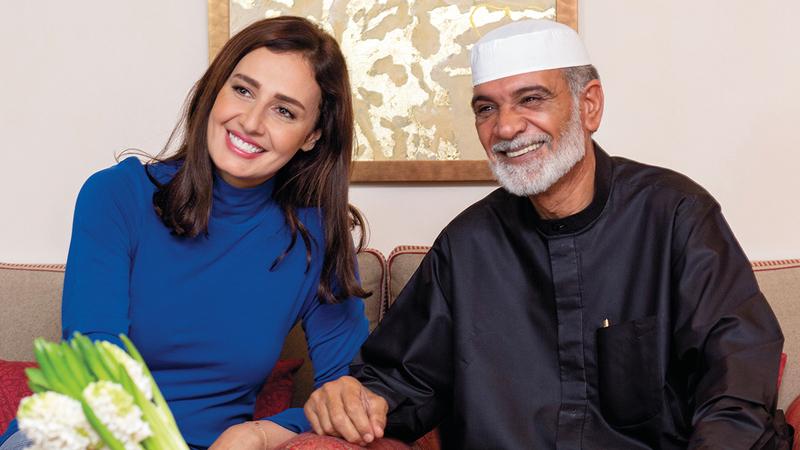 منصور الفيلي وحلا شيحة بطلا الفيلم. أرشيفية