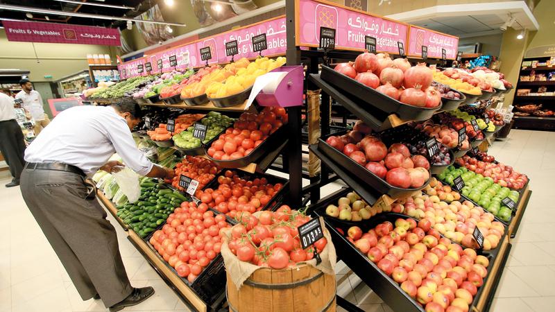 خطط التوسع لـ «أسواق» خلال 2021 تشمل إقامة 3 مراكز تجارية جديدة في دبي.  تصوير: باتريك كاستيلو
