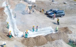 مشروع لتخفيض منسوب المياه الجوفية بمناطق في أبوظبي thumbnail
