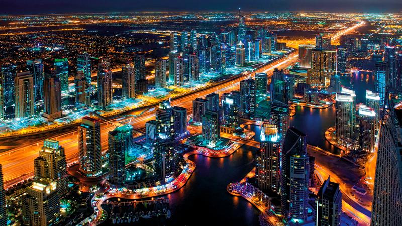 دبي تعزز مكانتها وجهة عالمية مفضلة للزيارة والعيش الكريم.  من المصدر