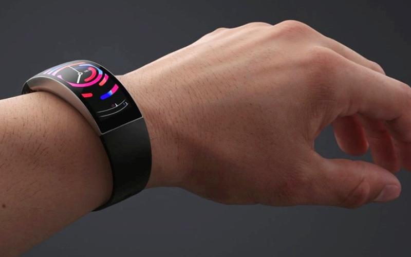 الصورة: «هوامي» تكشف عن ساعة ذكية بشاشة منحنية