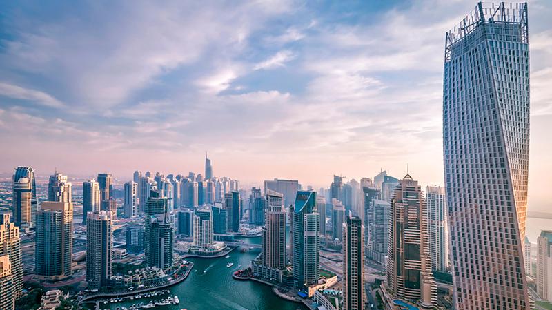 تملّك عقارات في دبي بقيمة مليونَي درهم يتيح الحصول على تأشيرة تقاعد قابلة للتجديد كل خمس سنوات.  أرشيفية