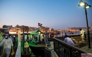 الصورة: «عبرة دبي».. رحلات المياه الممتعة