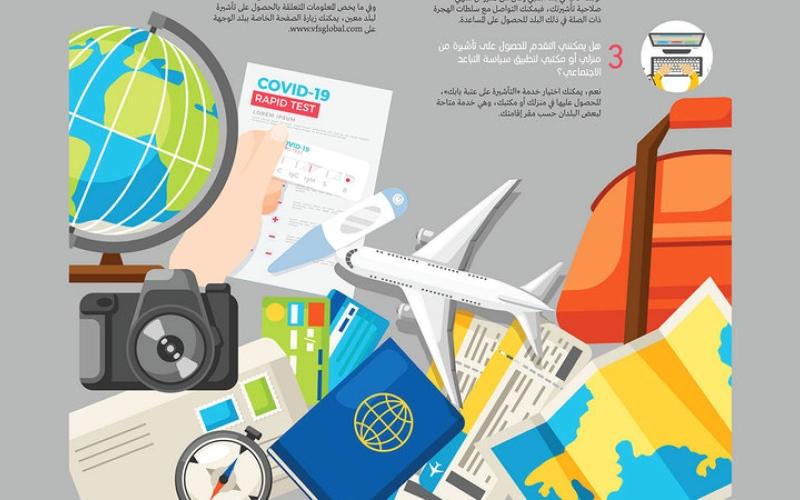 الصورة: 6 معلومات للحصول على تأشيرة بعد «كوفيد-19»