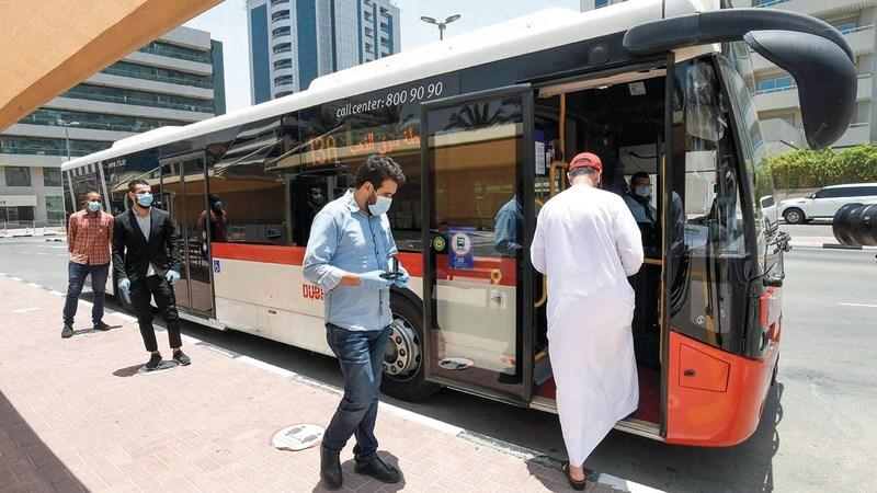 الهيئة تسعى إلى توظيف التقنيات في تحسين تجربة ركاب النقل الجماعي. من المصدر