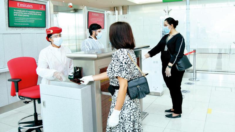 شركات الطيران توفر تأميناً مع تذكرة السفر.  أرشيفية