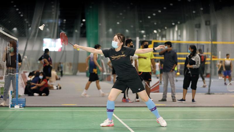 مشاركة نسائية واسعة في الفعاليات التي ينظمها مجلس دبي الرياضي.   من المصدر