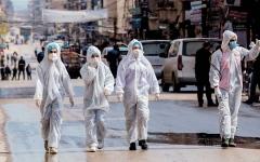 الصورة: 42 إصابة بـ «كوفيد-19» بين موظفي الأمم المتحدة وعائلاتهم في سورية