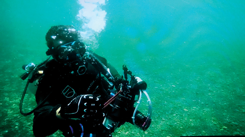 علي بن ثالث: أتمنى أن يرى الجميع ما شاهدته في البحر. من المصدر