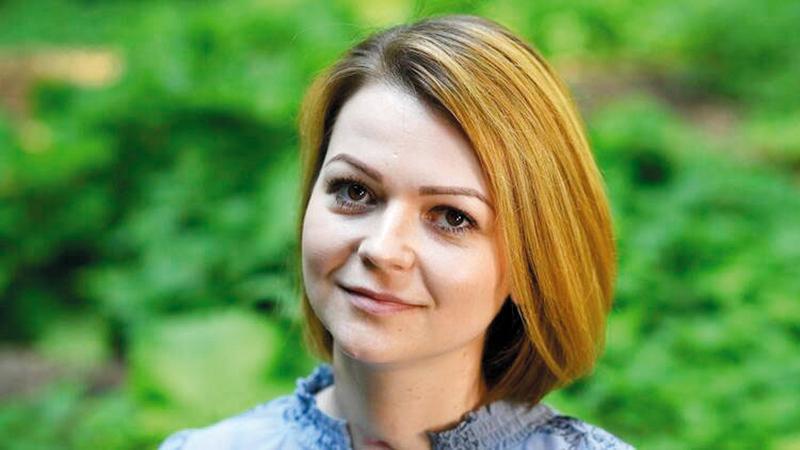 يوليا سكريبال تعرضت للتسمم بغاز «نوفيتشوك».  غيتي