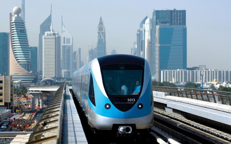 الصورة: بالفيديو.. 11 معلومة عن «مترو دبي» في ذكرى انطلاقه