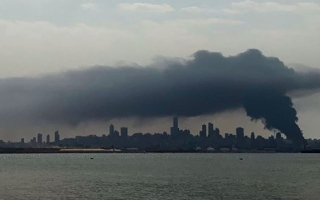 الصورة: بالصور.. لقطات من حريق مرفأ بيروت