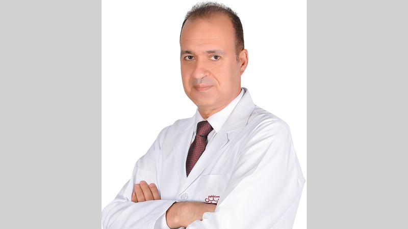 استشاري طب الأطفال وأمراض الدم لدى الأطفال بمستشفى برجيل في أبوظبي: الدكتور أحمد محمد عبدالعال.