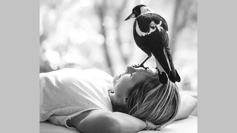 واتس: «كنت قلقة بعض الشيء بشأن كيفية جعل طيور (عقعق) تؤدي أدواراً تمثيلية». أرشيفية