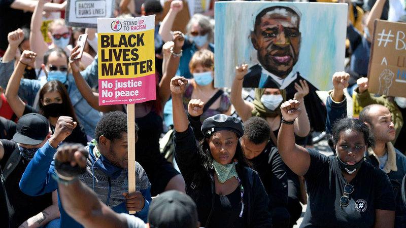 حركة «حياة السود مهمة» كانت هدفاً في مرمى جولياني.   أرشيفية