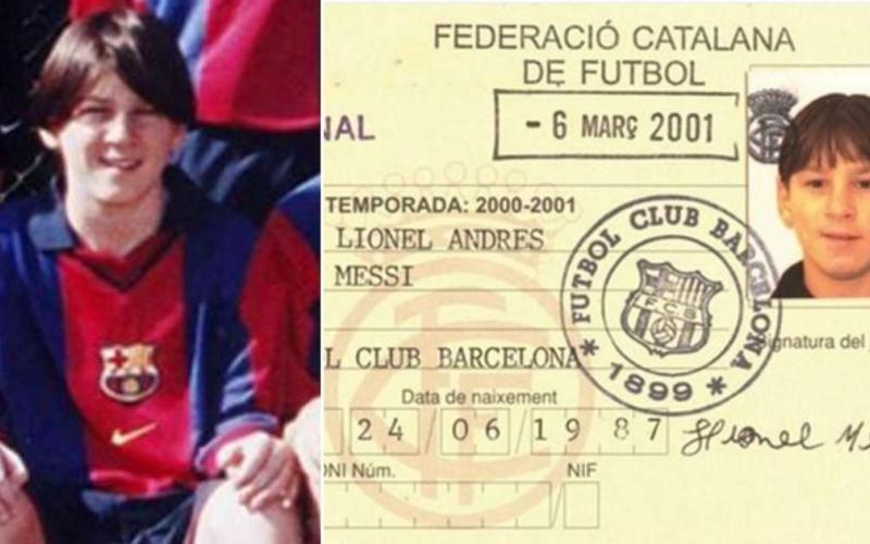 الصورة: بالفيديو.. أول مقابلة تلفزيونية لميسي مع برشلونة في 2001 وكيف عانى من قصر قامته