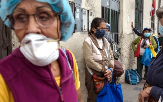 الصورة: وزراء «مالية وصحة العشرين» يؤكدون أولوية التغلب على «الجائحة»