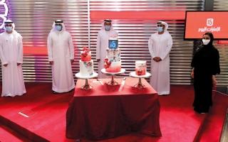 الصورة: بالصور.. «الإمارات اليوم» تضيء شمعة جديدة