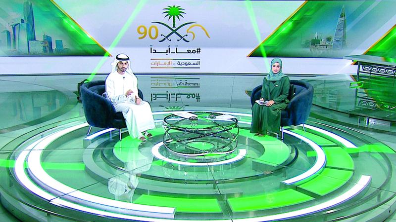 تلفزيون دبي يقدم مساء اليوم حلقة خاصة من برنامج «معاً أبداً». من المصدر