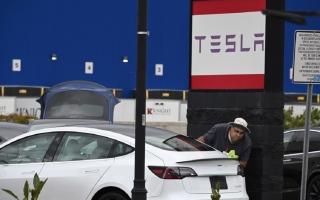 """الصورة: ماسك يعد بسيارة """"تيسلا"""" سعرها 91 ألف درهم"""