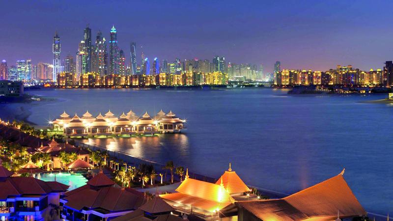 جزء كبير من فنادق دبي حقق نسب إشغال راوحت بين 60 و90% خلال الفترة الماضية. ■ أرشيفية