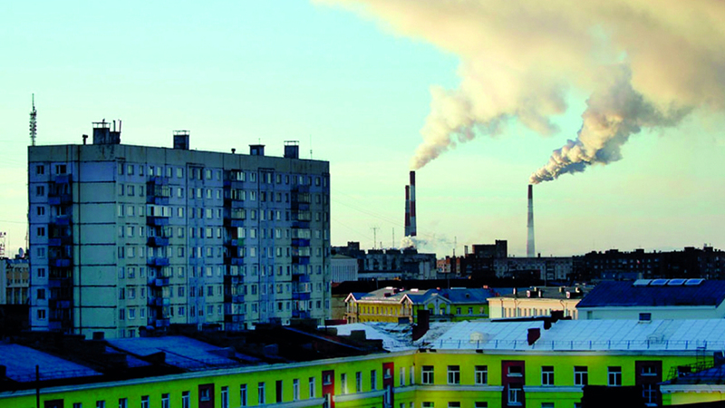 «نوريلسك» من أكثر المناطق تلوثاً في العالم.  أرشيفية