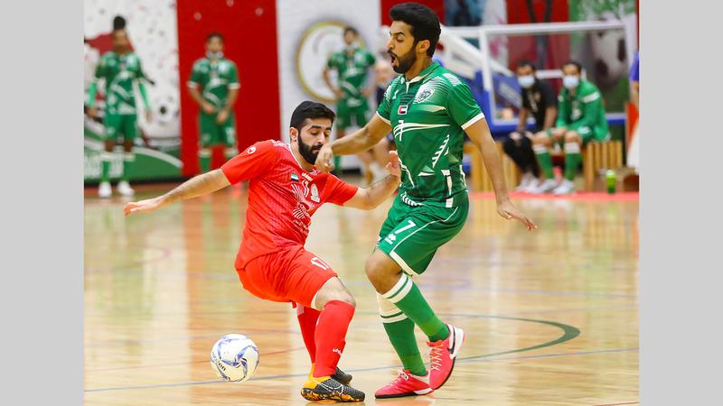 فرحة كبيرة للاعبي البطائح بلقب الدوري. الإمارات اليوم