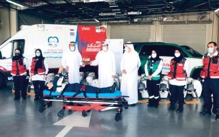 «إسعاف دبي» تضيف 100 جهاز إنعاش لإنقاذ مرضى توقف القلب thumbnail