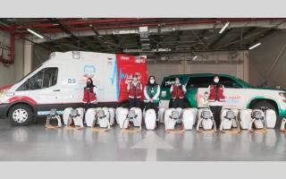 «إسعاف دبي» تضيف 100 جهاز إنعاش لإنقاذ مرضى توقف القلب
