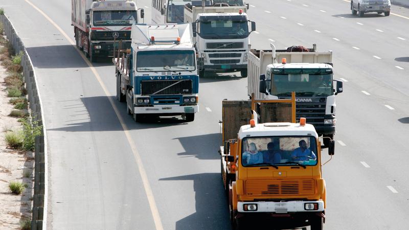 النظام يضمن التزام السائقين بمعايير وشروط السلامة المرورية.الإمارات اليوم