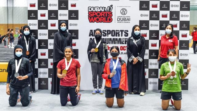 صورة روضة الهاجري تظفر بلقب «سيدات دبي للريشة الطائرة» – رياضة – محلية
