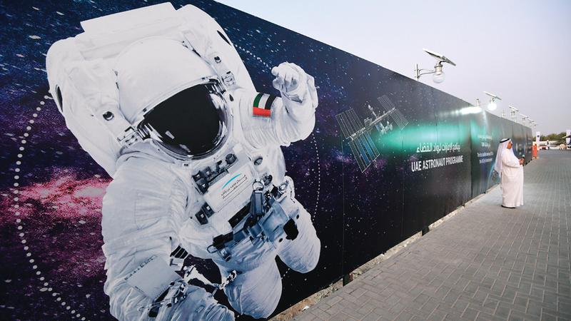 3000 شخص يعملون ضمن القطاع الفضائي بالدولة. تصوير: باتريك كاستيلو