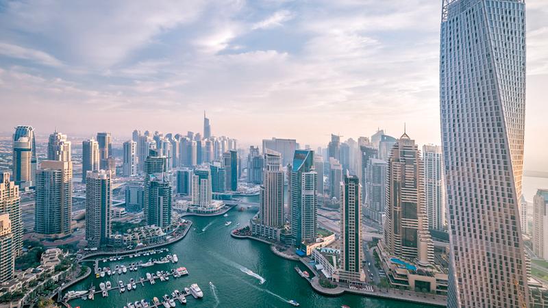 عقارات دبي شهدت دخول استثمارات جديدة بالتزامن مع التصحيح السعري. أرشيفية