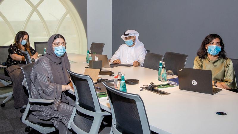 الجمعية عرضت خلال الاجتماع دراسة خاصة عرّفت بمركز حقوق النسخ.  من المصدر