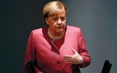 الصورة: ميركل: الوحدة الألمانية إنجاز غير مسبوق لشعب بأكمله