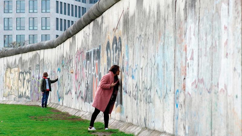 سور برلين تحول إلى مزار لأخذ العبر. أرشيفية