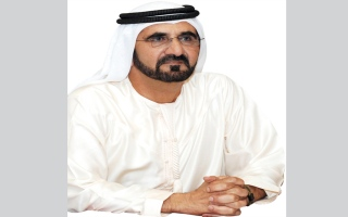 """محمد بن راشد بمناسبة تأسيس مطار دبي الدولي: """"لا يوجد حلم مستحيل"""""""