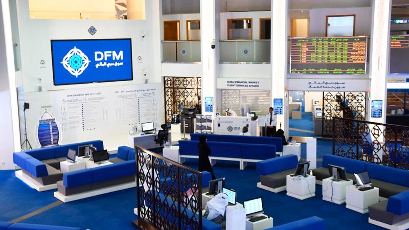 سوق دبي المالي بدأ أكتوبر بتداولات بلغت قيمتها 151 مليون درهم. أرشيفية