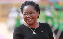 الصورة: فيكتوار دوغبي أول امرأة تتولى رئاسة الوزراء في توغو