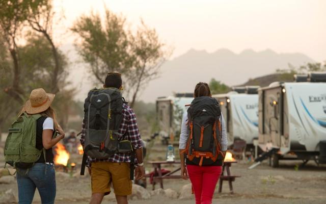 الصورة: مغامرات حتّا و«وادي هب» تعود بتدابير سلامة وإجراءات احترازية