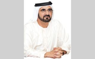 محمد بن راشد: عندما تخطى «دبي الدولي» مطار هيثرو تعلمت بأنه لا يوجد حلم مستحيل