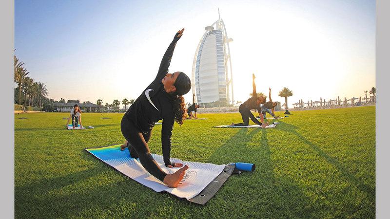 فعاليات «التحدي» تبثّ الحماس في كل أرجاء دبي. من المصدر